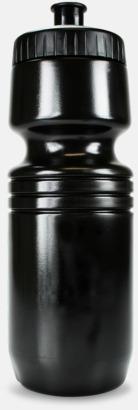 Svart Speed -  vattenflaskor med reklamtryck