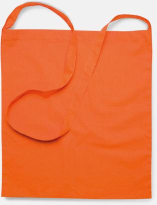 Färgglada bomullskassar med reklamtryck i slingmodell