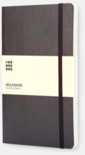 Moleskines mjuka anteckningsböcker i mindre format (ca A6) - med reklamtryck