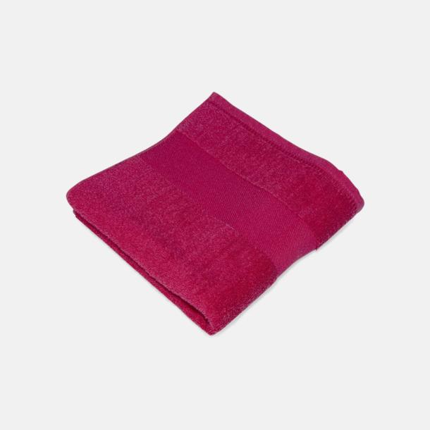 Poppy Red Handdukar för brassestolar med reklambrodyr