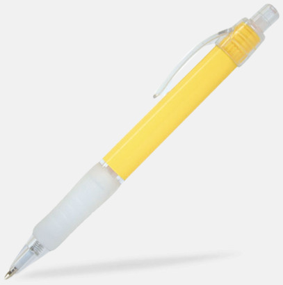 Gul (Colour) Billig reklampenna med skön skrivkänsla