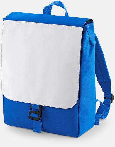 Sapphire Blue Mindre ryggsäckar för barn med eget sublimationstryck