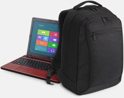 Fina datorryggsäckar med reklamtryck