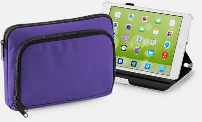 Lila (iPad mini) iPadfodral i två storlekar med reklamtryck