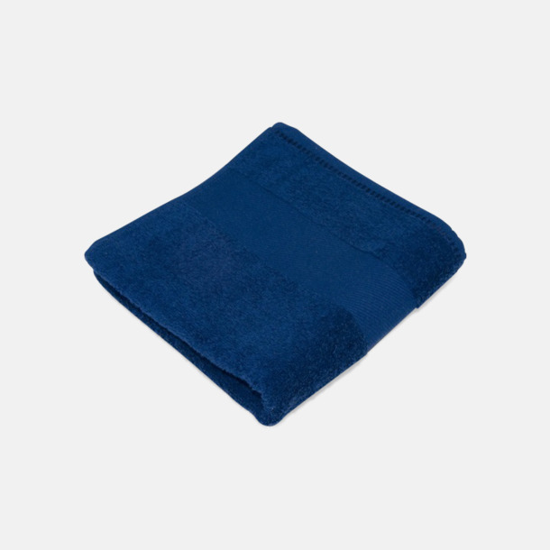Marinblå Handdukar för brassestolar med reklambrodyr