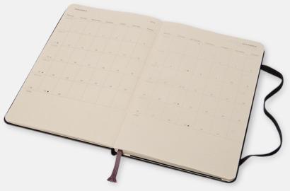 Kalender med adressbok från Moleskine med reklamtryck