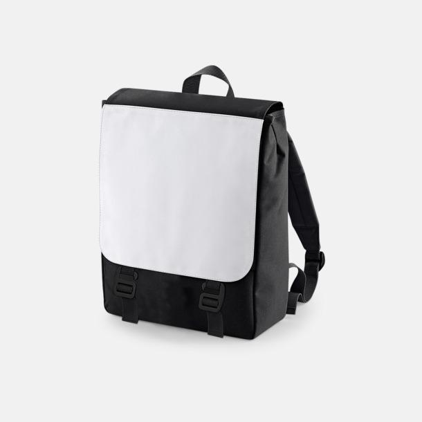Svart Ryggsäckar för detaljerade sublimationstryck