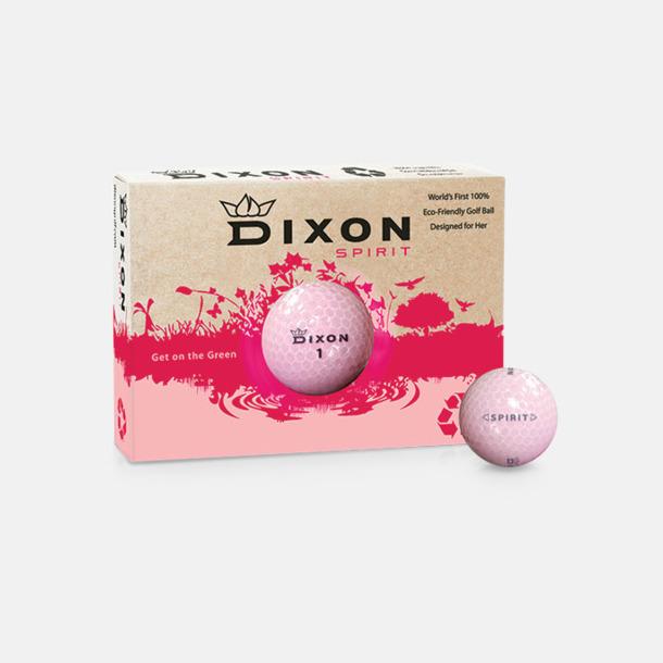Rosa golfbollar