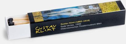 Stor (ca 20 st) Avlånga tändsticksaskar med 12 eller 20 brasstickor med reklamtryck