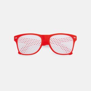 Solglasögon med tryck direkt på glaset