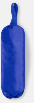 Blå Plastpåseförvaring med reklamtryck