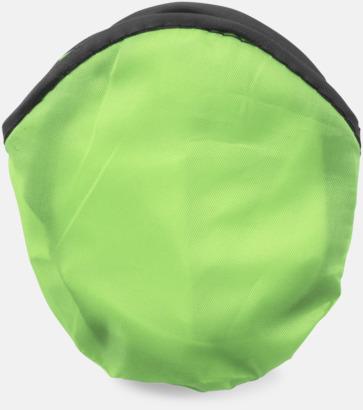 Limegrön Frisbees med reklamtryck