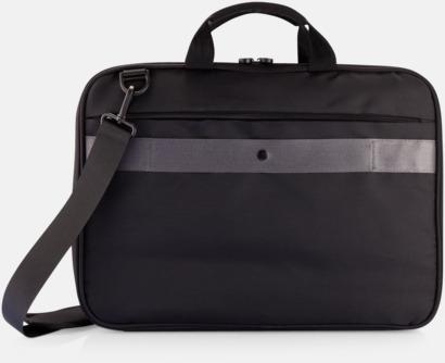Baksida Säkra väskor för surfplatta och laptop i återvunnet material - med reklamtryck