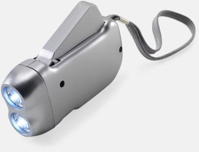 Ljusgrå Ficklampor med tryck