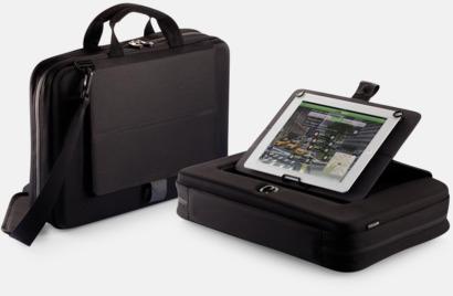 Säkra väskor för surfplatta och laptop i återvunnet material - med reklamtryck