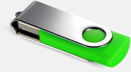 Grön (355C) USB Minne Twist