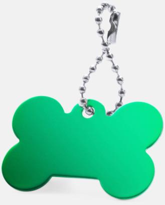 Grön Kulkedja med hundbensfigur med reklamtryck