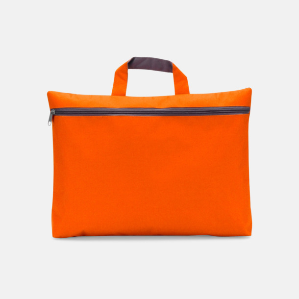 Orange Dokumentficka med tryck