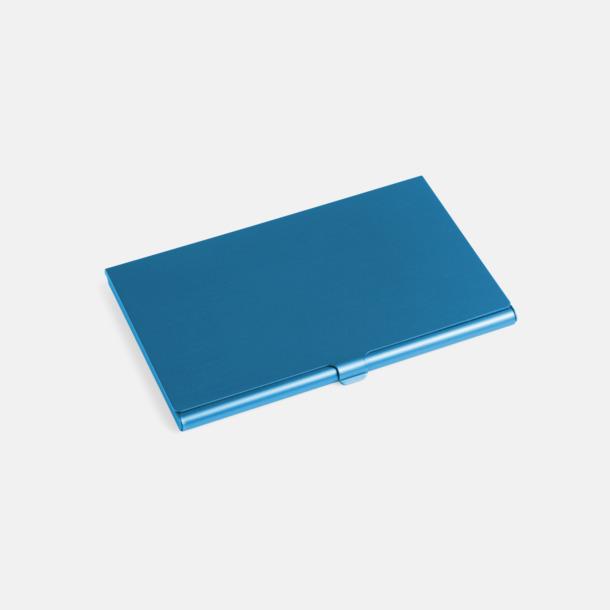 Blå Visitkortsfodral med eget tryck