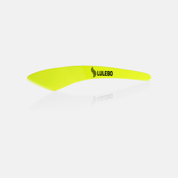 Limegrön (1-färgstryck)  Smörkniv med reklamtryck
