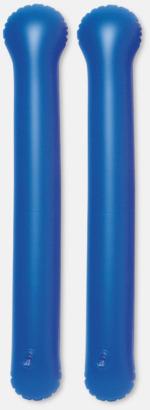 Blå Roliga, uppblåsbara trumpinnar med reklamtryck
