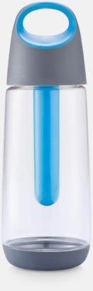 Blå Hållbar miljövattenflaskor med reklamtryck