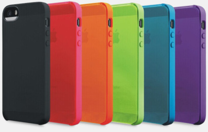 iPhoneskal i silikon med reklamtryck