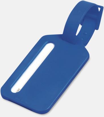 Blå Bagagebricka i plast