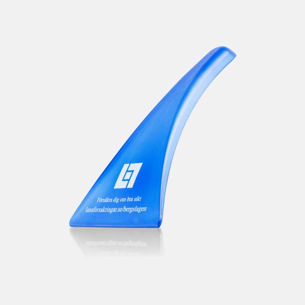 Blå (1-färgstryck) Ergonomisk isskrapa med tryck