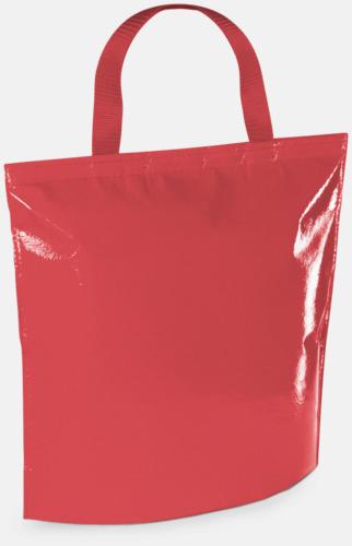 Röd Kylpåse i laminerad non woven med reklamtryck