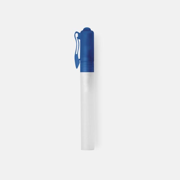 Blå Bakteriedödande handsprit med reklamtryck