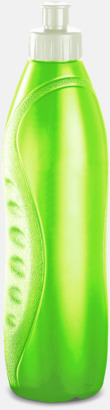 Limegrön Lady - vattenflaskor med reklamtryck