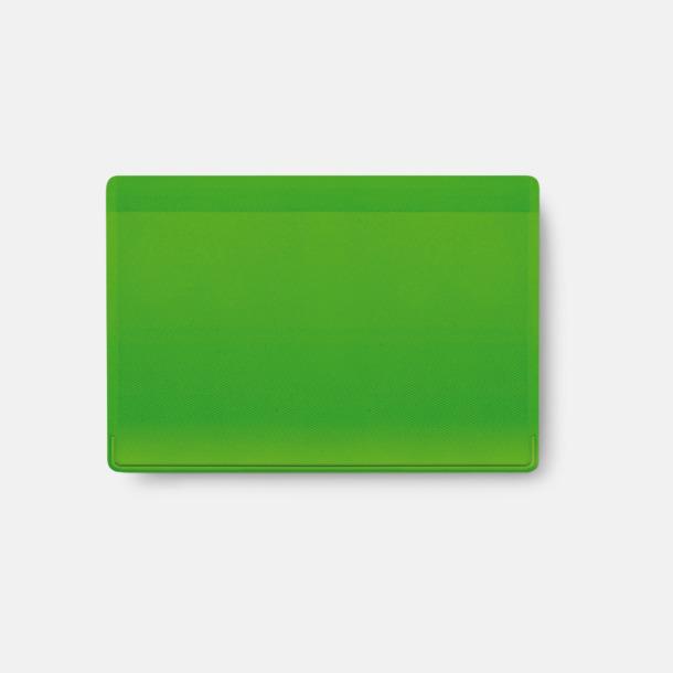 Grön Korthållare med reklamtryck