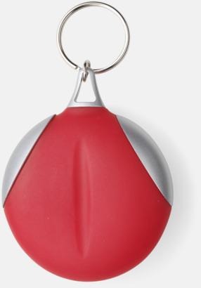 Röd / Silver Putsduk med tryck