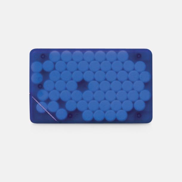 Blå transparent Fresh Card med eget tryck