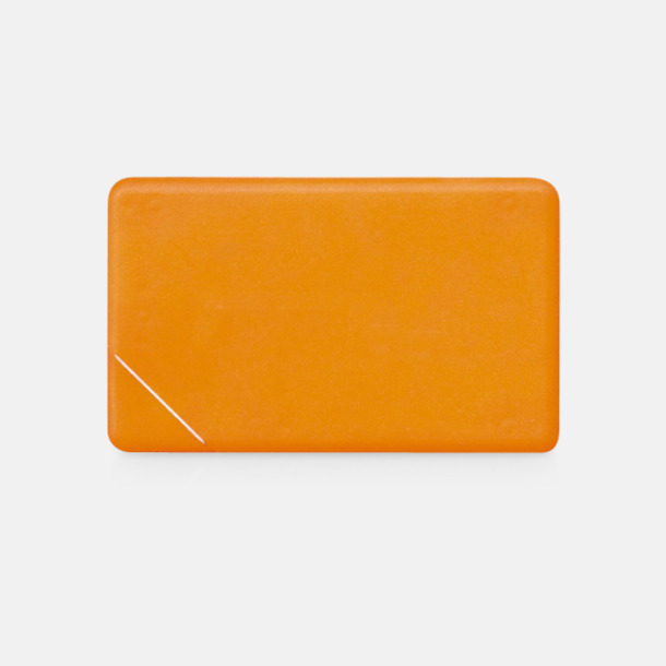 Orange solid Fresh Card med eget tryck