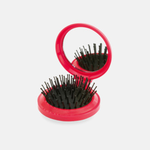Fickspegel med hårborste