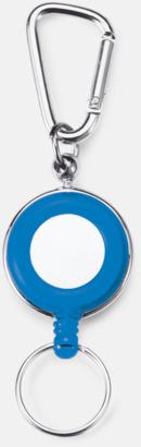 Blå Nyckelringar med eget tryck