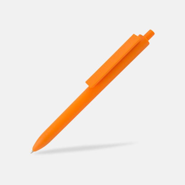Orange Läckra bläckpennor med reklamtryck