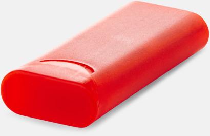 Röd plåstertub med 10 plåster