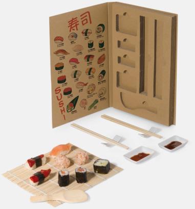 Set för hemlagad sushi - med reklamtryck