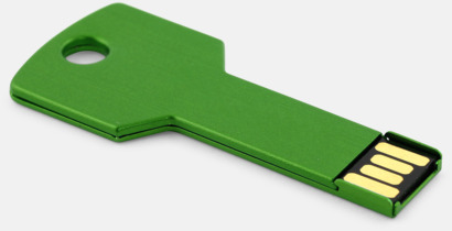 Grön USB minne nyckel