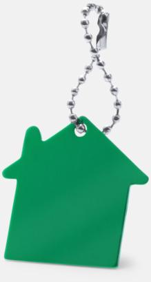 Grön Kulkedja med husfigur med reklamtryck