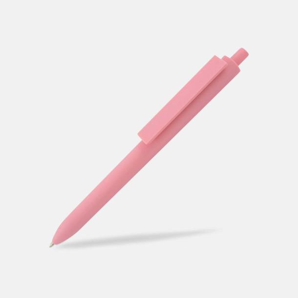 Rosa Läckra bläckpennor med reklamtryck