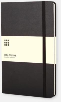 Svart (pocket) Månadskalendrar i 3 storlekar från Moleskine med reklamtryck
