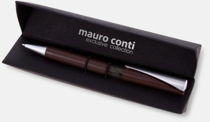 Fina kulspetspennor från Mauro Conti med reklamtryck