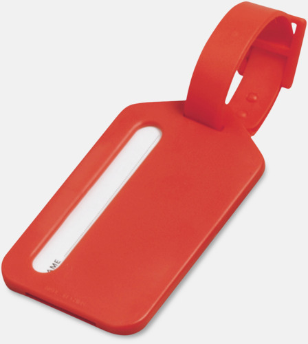 Röd Bagagebricka i plast