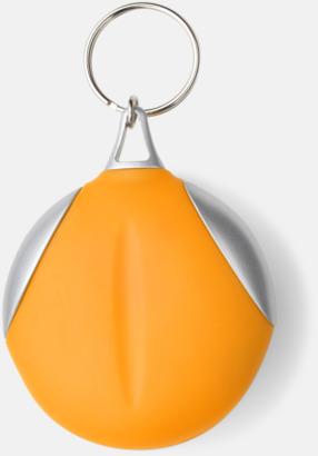 Orange / Silver Putsduk med tryck