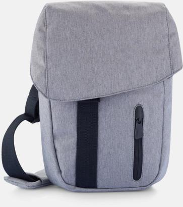 Grå Eko-väska för surfplattan - med reklamtryck