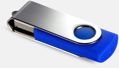 Blå (286C) USB Minne Twist
